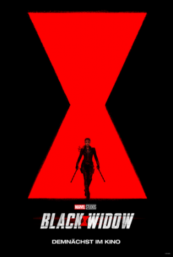 Plakat Black Widow