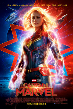 Plakat Captain Marvel