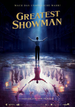 Plakat Greatest Showman