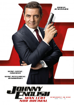 Plakat Johnny English - Man lebt nur dreimal