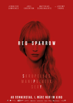 Plakat Red Sparrow